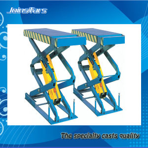Small Flat Scissor Lift for Car Repair pictures & photos