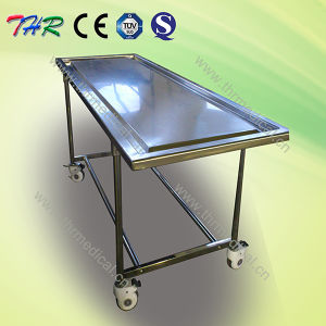 Funeral Full Stainless Steel Movable Autopsy Table pictures & photos
