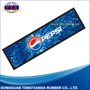 Custom Printing Nitrile Rubber Bar Drink Mat pictures & photos