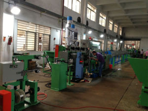 Chemical Foam Extrusion Machine for Wire and Cable pictures & photos