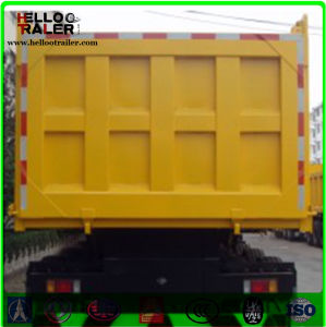 2017 Green 3 Axle Dump Semi Trailer Sand Stone Transpory Tipper Semi - Trailer pictures & photos