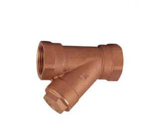 Wras Approved Bronze Y Type Strainer-Bronze Strainer