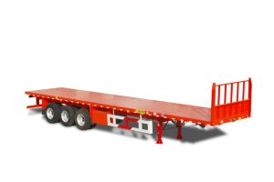 ISO CCC 3 Axles 40ft Flatbed Container Trailer Hot Sale pictures & photos