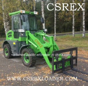 CE Approved 1.2 Ton Small Wheel Loader with Euroiii Engine pictures & photos