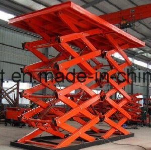 Electric Hydraulic Goods Freight Elevator Warehouse Cargo Material Lifting Platform Price pictures & photos