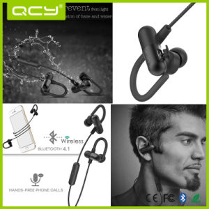 Qy11 V4.1 Waterproof & Sweatproof Wireless Bluetooth Earphone with Microphone pictures & photos