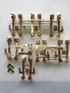 Switch Copper Accessories Red Copper Brass Metal Stamping Press Parts for Timer pictures & photos