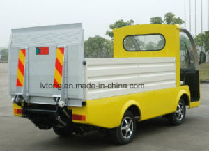 Electric Garbage Collecting Car for Sale pictures & photos