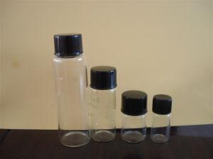 Clear and Amber Pill Glass Bottle for Medical Supply pictures & photos