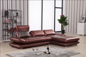 2015 Furniture Leather Sectional Sofa Set pictures & photos