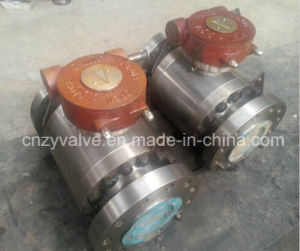 Forged Stainless Steel Ball Valve with High Pressure, Gear Operated pictures & photos