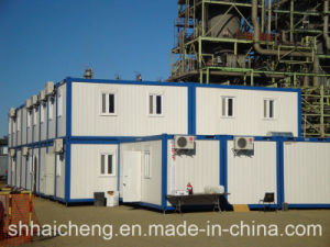 Stacked Container Office Building for The Factory (shs-mh-office044) pictures & photos