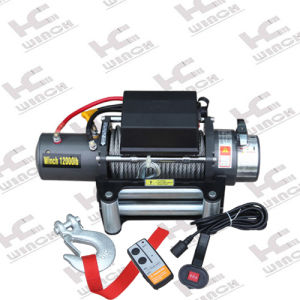 Recovery Winch 12000lb with 500A Solenoid pictures & photos