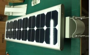 20W LED Street Lighting Integrated with Sunpower Solar Panel and Lithium Battery pictures & photos