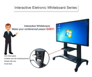 55, 65, 75, 85, 98, 110- Inch LCD Display with OPS PC Built-in Interactive Touchscreen Kiosk Interactive Whiteboard pictures & photos