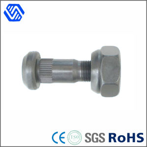 Auto System Wheel Parts Track Hub Bolt Fastern High Strength Carbon Steel Hot DIP Wheel Bolt pictures & photos