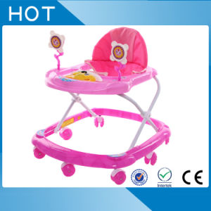 Cheap Price Round Baby Walker with Toys pictures & photos