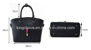 Latest New Color Combination PU Handbag (KCH277) pictures & photos