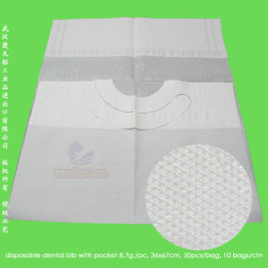 Disposable 2-Ply Tissue Paper + 1-Ply Dental Bib pictures & photos