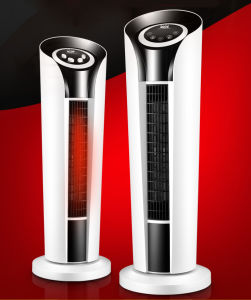New Designed Hot Sale Ceramic Tower Fan Heater