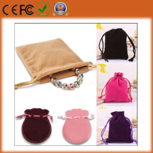Eco-Friendly Promotional Velvet Gift Bag for Jewelry/Bag/