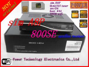300m WiFi SIM A8p Dm800 HD Se Receiver