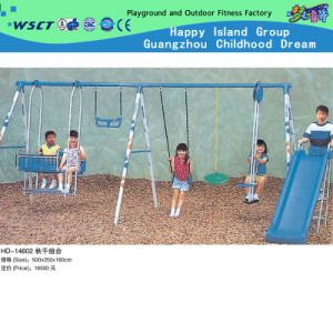 Professional Outdoor Playground Swing Set with CE (HD-14602) pictures & photos