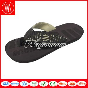 Summer Outdoors Leather PU Men Flip Flops