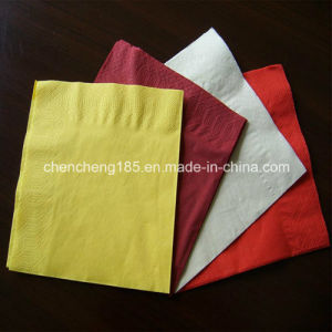 Colorful Hot Selling Paper Napkin for Restaurants Dinner Paper pictures & photos
