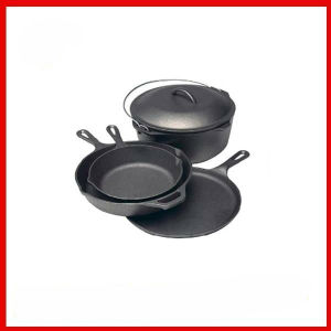 OEM Design Cast Iron Camping Cookware pictures & photos
