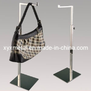 Mirror Polished Stainless Steel Bag Holding Metal Display Stand pictures & photos