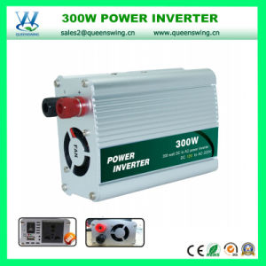 300W DC12V/24V AC220V High Frequency Power Inverter (QW-300MUSB) pictures & photos