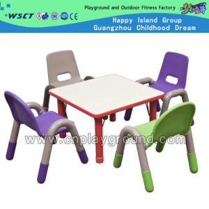 Discount Kindergarten Plastic Combination Chair and Table for Sale (M11-07810) pictures & photos