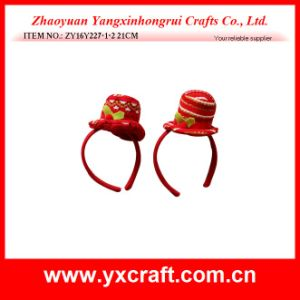 Christmas Decoration (ZY16Y227-1-2 21CM) Merry Christmas Party Hat Gift Items pictures & photos