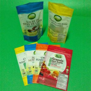 Composite Plasic Stand-up Pouch Packing Vacuum Bag Small pictures & photos