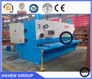 QC12K-20X3200 CNC Hydraulic Swing Beam Plate Shearing and Cutting Machine pictures & photos
