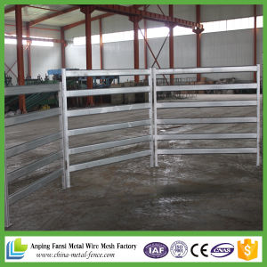 30X60mm Heavy Duty 6 Bar Oval Rail Steel Cattle Panels pictures & photos
