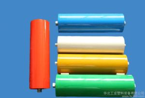 PU / Polyurethane and Steel Roller Idler / Conveyor Roller pictures & photos
