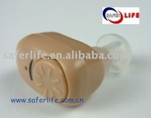 Smart and Compact Size Light Weight Channel Adjustable Skin Color Hearing Aid pictures & photos
