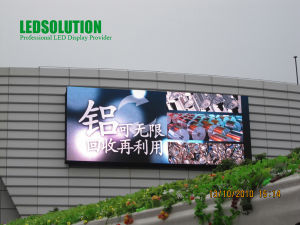 Large Format Outdoor Advertising LED Display pictures & photos