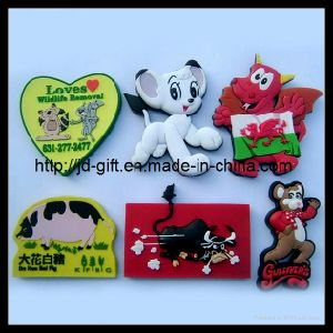 Custom PVC Rubber Promotional Gift 3D Fridge Magnet pictures & photos