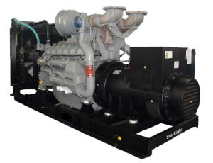 48kw/60kVA Silent Diesel Generator Set Powered by Perkins Engine pictures & photos