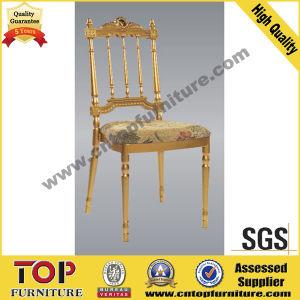 Crown Golden Aluminum Wedding Chateau Napoleon Chair pictures & photos