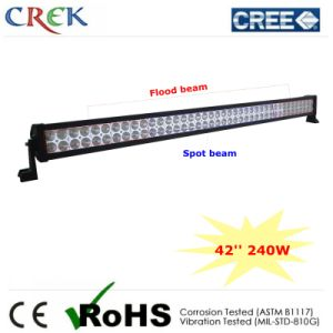42inch 240W CREE LED Light Bar with 80PCS*3W LEDs (CK-BE24003)