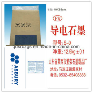 China Made Graphite Powder Kraft Paper Woven Bag pictures & photos