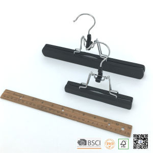 Fashion Black Extension Hair Hanger, Also Used for Pants Skirt Hangers pictures & photos