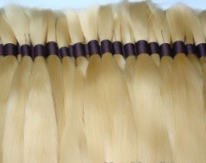Russian Natural Virgin Remy Human Hair Bulk pictures & photos