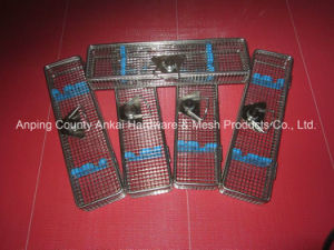 Stainless Steel Welded Wire Fabric Endoscope Basket pictures & photos
