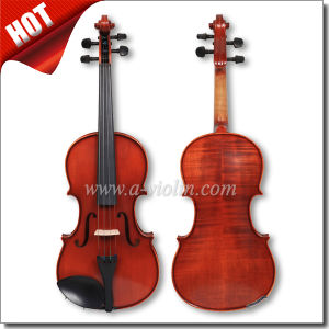 Musical Instrument Universal Flamed Conservatory Violin (VM125) pictures & photos
