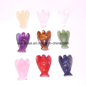 Semi Precious Gemstone Fashion Angel Anima Carving Figure Statue pictures & photos